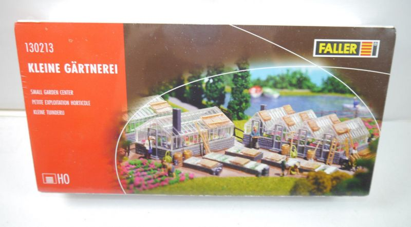 FALLER 130213 Kleine Gärtnerei Gebäude Plastik Modellbausatz H0 Neu (MF16)
