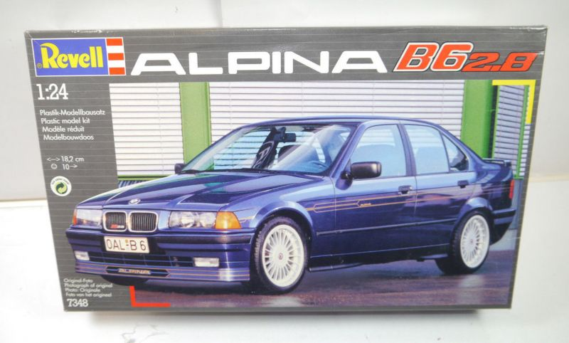 REVELL 7348 Alpina B6 2.8 Auto Plastik Modellbausatz 1:24 mit OVP (MF19)
