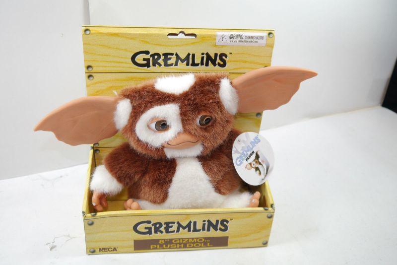 GREMLINS Plüschfigur GIZMO deluxe NECA ca.20 cm NEU  (L)