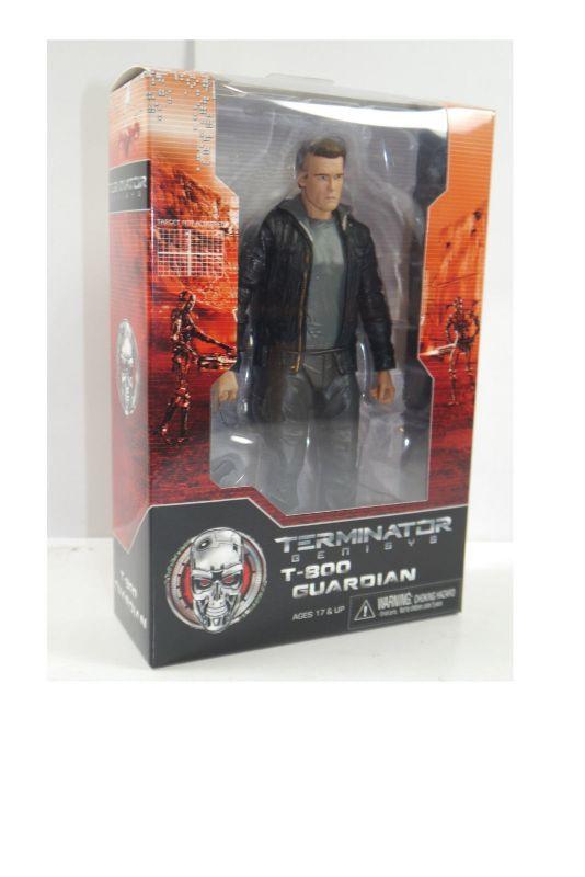 TERMINATOR Genisys  T-1800 Guardian Schwarzenegger  Actionfigur NECA ca.18cm (L)