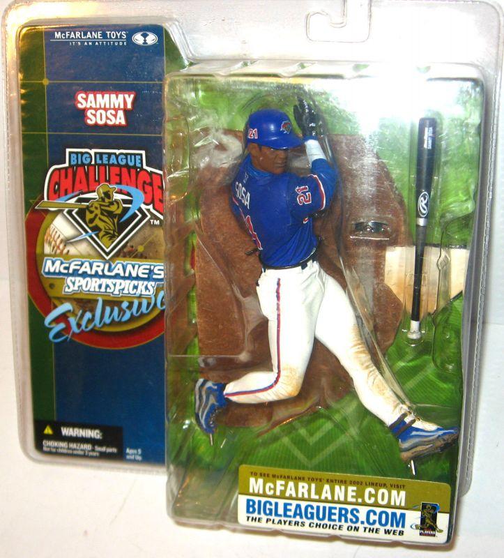 McFARLANE's SPORTSPICKS Exclusive - Sammy Sosa Figur Baseball ca.14cm NEU (L)