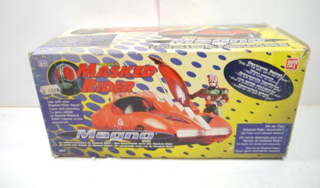 Saban 's MASKED RIDER Magno Auto mit Sound BANDAI mit OVP (F14)