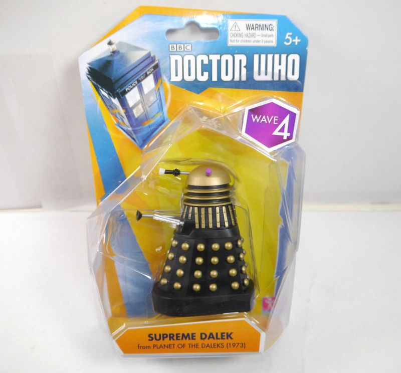 DOCTOR WHO Wave 4 - Supreme Dalek (1973) Actionfigur CHARACTER Neu (L)