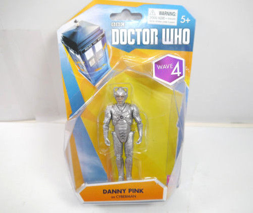 DOCTOR WHO Wave 4 - Danny Pink als Cyberman Actionfigur CHARACTER Neu (L)