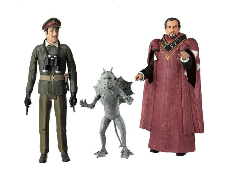 DOCTOR WHO The Daemons Collectors Set / 3rd Doctor Actionfiguren CHARACTER (L)