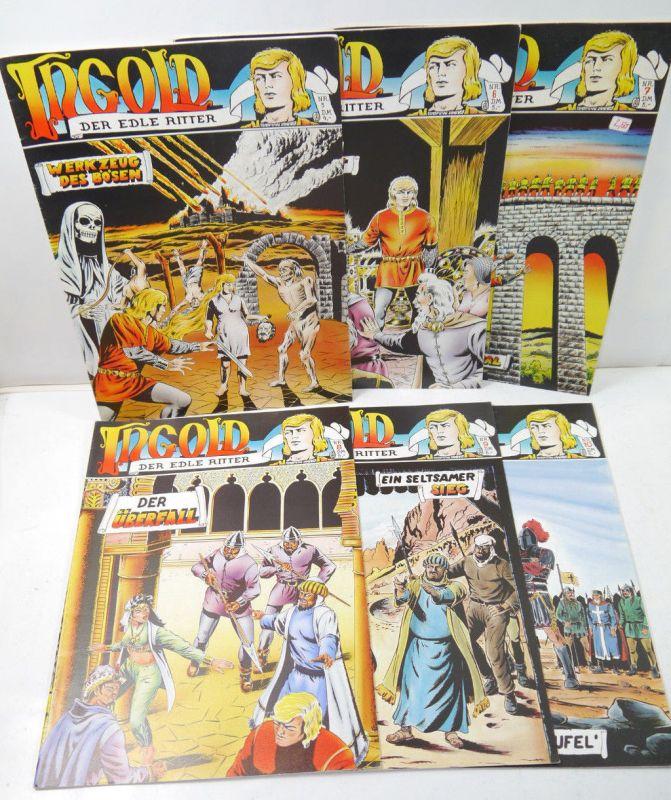 INGOLD Der edle Ritter   Heft 5 - 10 Comic COMIC-STERN (B1)