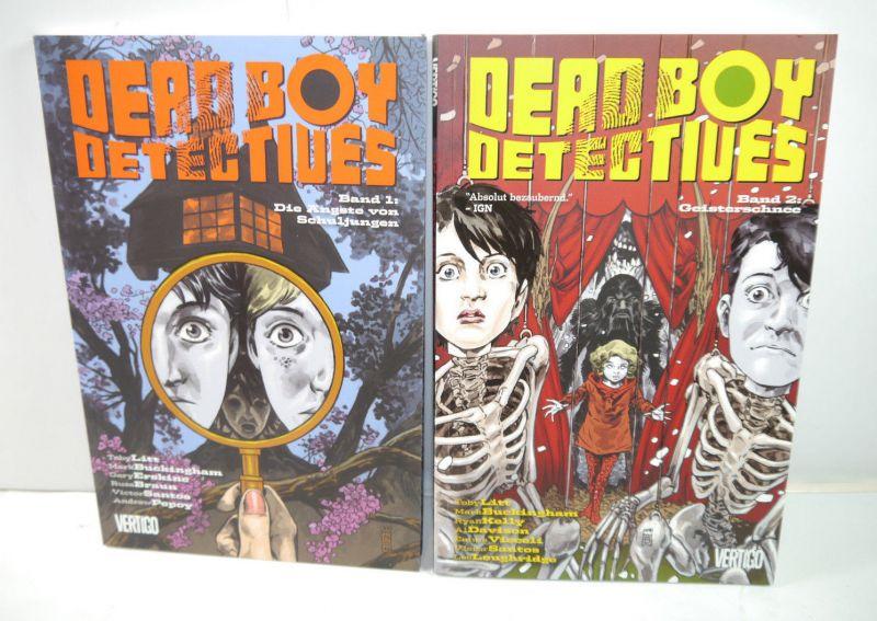 DEAD BOY DETECTIVES Band 1 + 2 Comic SC PANINI COMICS Vertigo Litt , Kelly (L)