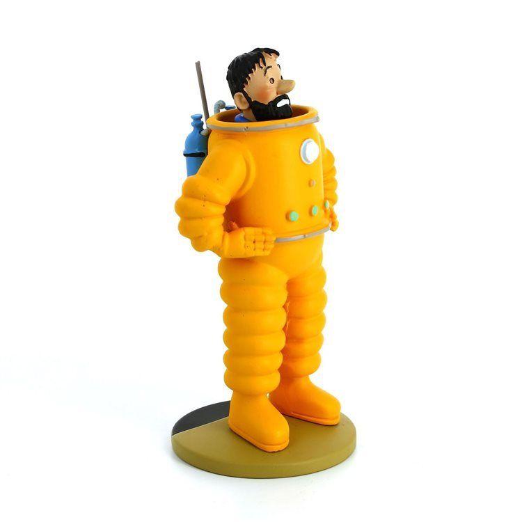 TIM & STRUPPI Tintin - Haddock als Astronaut Figur MOULINSART 12cm NEU (L)