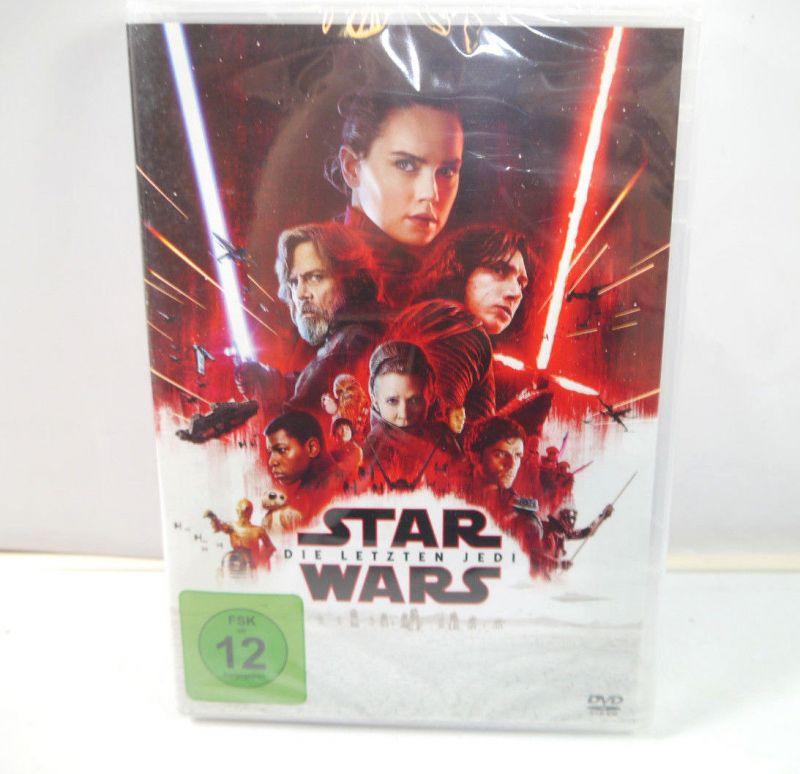 STAR WARS - Die letzten Jedi DVD 2017 Mark Hamill , Carrie Fisher NEU (WR4)