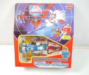 BATTLE OF THE PLANETS 77271 Gatchaman Gatcha-Spaltan Raumschiff ship POPY (L)*