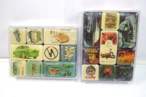 NOSTALGIC-ART 2er Magnet Set mit 18 Magnete MOVIE Trabant Neu (K83)#08