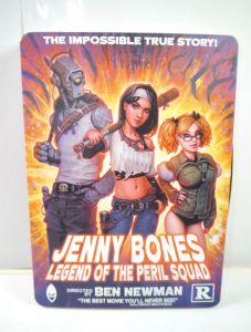 JENNY BONES Legend of the Peril Squad - Comic Artbook BEN NEWMAN Clandestine WR5