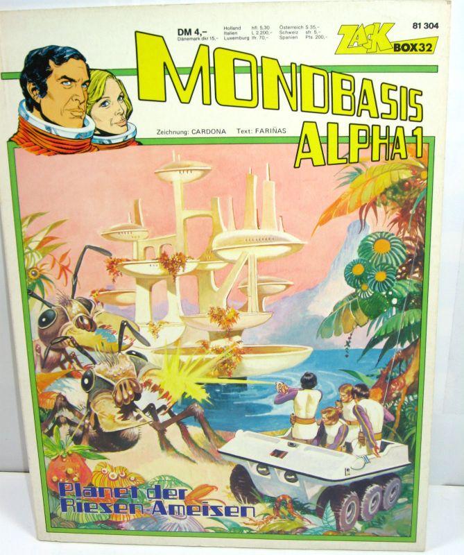 MONDBASIS ALPHA 1 - Planet der Riesen-Ameisen Comic SC ZACK BOX 32 (L)
