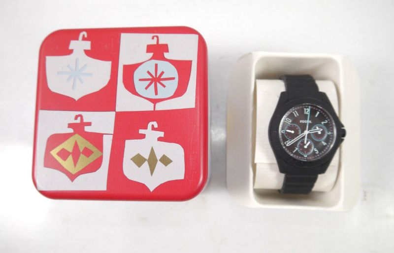 FOSSIL ES 4063 Damenuhr Poptastic Sport Multifunktion schwarz Armbanduhr (K85)