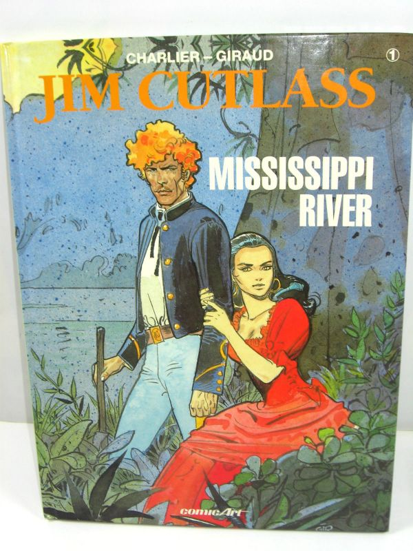 JIM CUTLASS Band 1 - Mississippi River Comic HC COMIC ART Charlier Giraud (L)