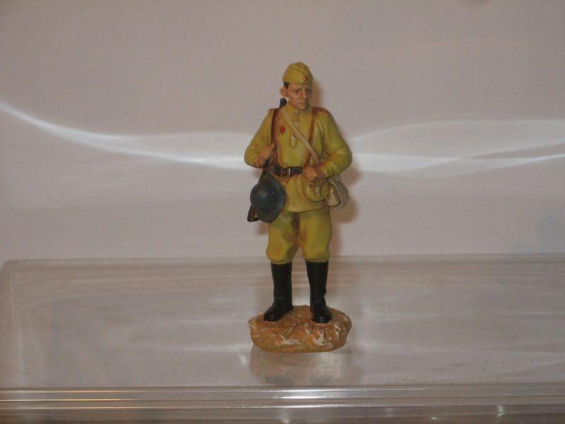Hobby Work  WWII Soldat ca. 1/22,5 #19 Russischer Soldat Zinnfigur 8cm