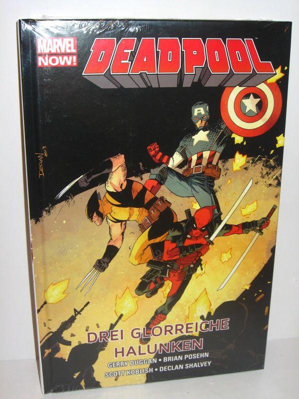DEADPOOL # 3 Drei glorreiche Halunken / HC / Comic / Panini Comics NEU (L)