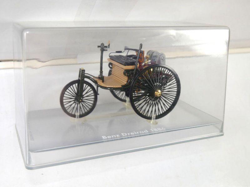 RIO Benz Dreirad 1886 Metall Modellauto 1:24 (K45)