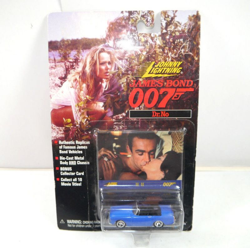 JAMES BOND 007 - Dr. No : 261-00 Sunbeam Alpine Modellauto JOHNNY LIGHTNING *K45