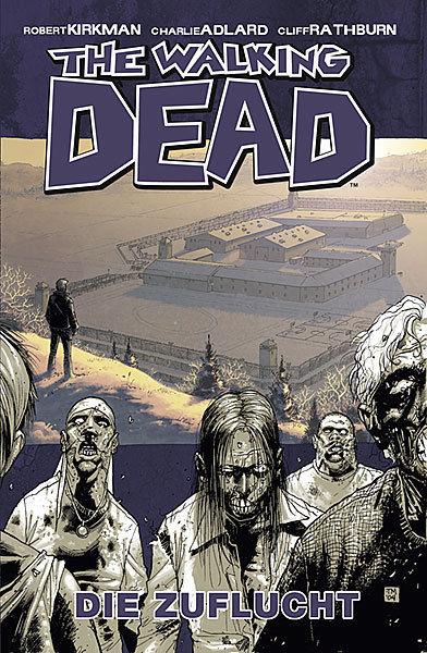 THE WALKING DEAD # 3 - Die Zuflucht Comic Gebunden CROSS x CULT Neu (L)