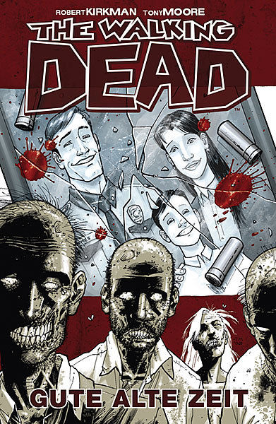 THE WALKING DEAD # 1 - Gute alte Zeit Comic Gebunden CROSS x CULT Neu (L)