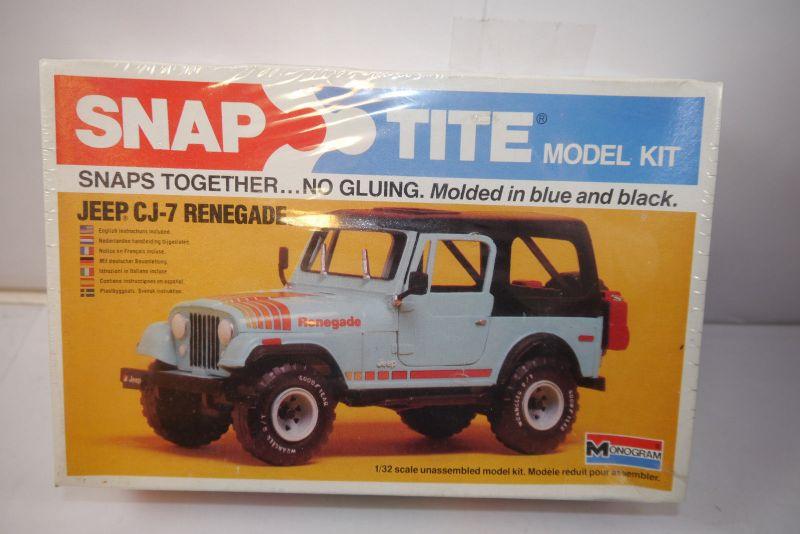 Monogam 1023 Jeep CJ-7 Renegade   Auto  Modellbausatz 1:32 Neu  OVP (K11)