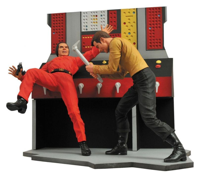 STAR TREK Select - Captain Kirk Actionfigur DIAMOND SELECT TOYS Neu (L)