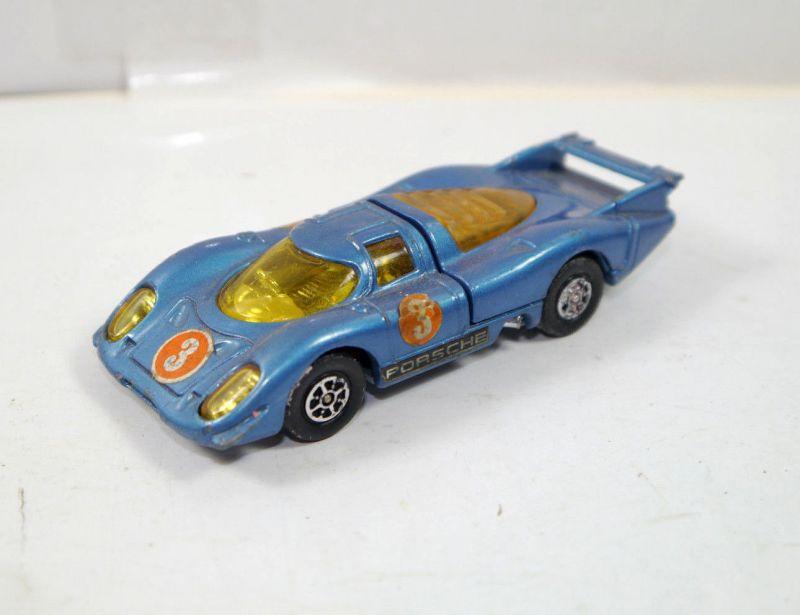 CORGI TOYS Whizz wheels Porsche 917 blau Metall Modellauto 1:43 (K84)#A