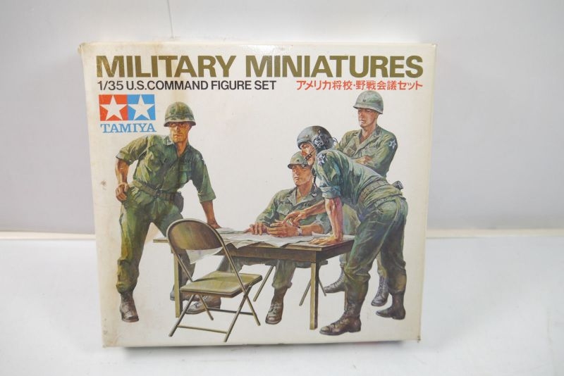 Tamiya Military Miniatures U.S.Command Figuren Set  Bausatz 1:35 (K52)