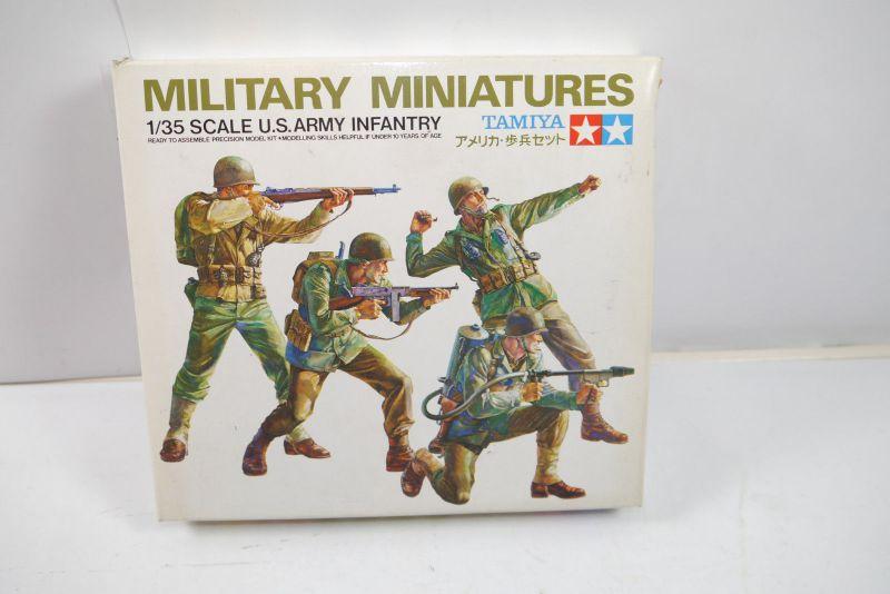 Tamiya Military Miniatures U.S. Army Infantry Figuren Bausatz 1:35 (K52)