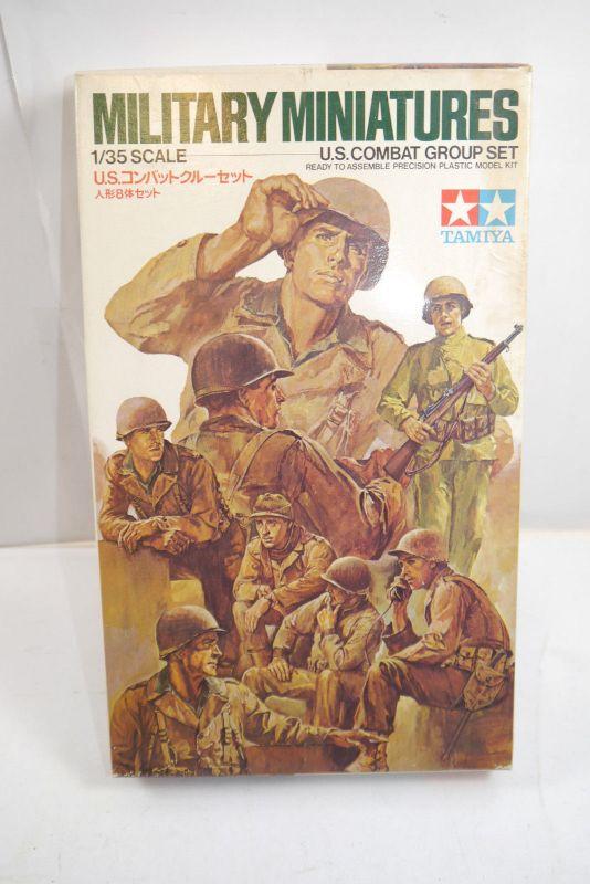 Tamiya Military Miniatures U.S.Combat Group Figuren  Plastik Bausatz 1:35 (K79)