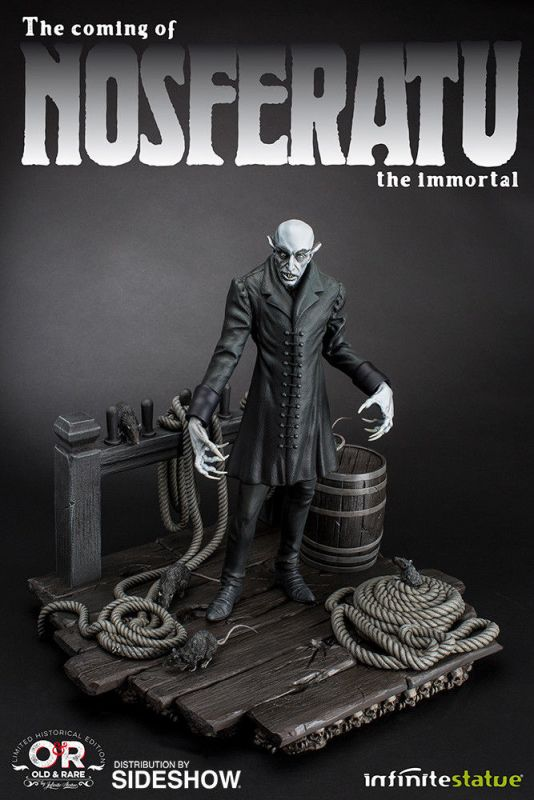 The coming of NOSFERATU the immortal - Figur INFINITE STATUE Limitiert m.OVP (L)