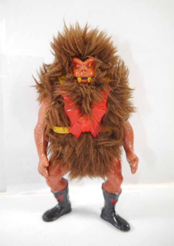 MASTERS OF THE UNIVERSE He-Man : Grizzlor Actionfigur 1985 MATTEL (L)