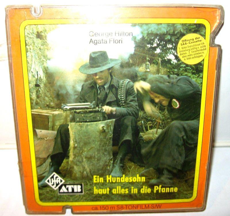 EIN HUNDESOHN HAUT ALLES IN DIE PFANNE - 150m / S8 Tonfilm S/W UFA (K39)