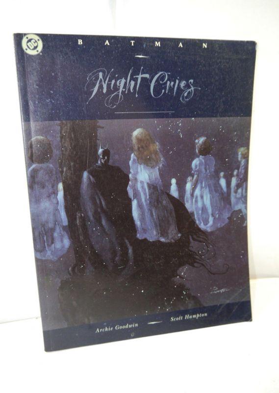 BATMAN Night Cries Comic SC englisch DC COMICS Goodwin , Hampton (MF9)