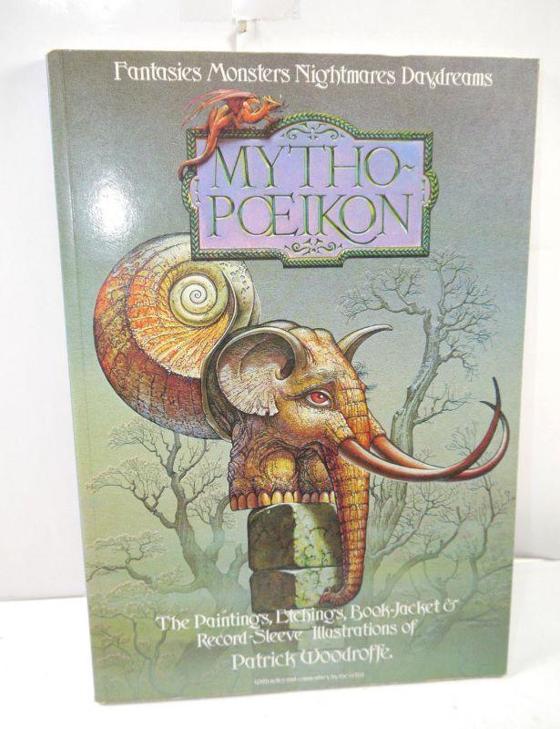 MYTHOPOEIKON Dragon's World Artbook englisch WOODROFFE Paper Tiger Book (MF9)