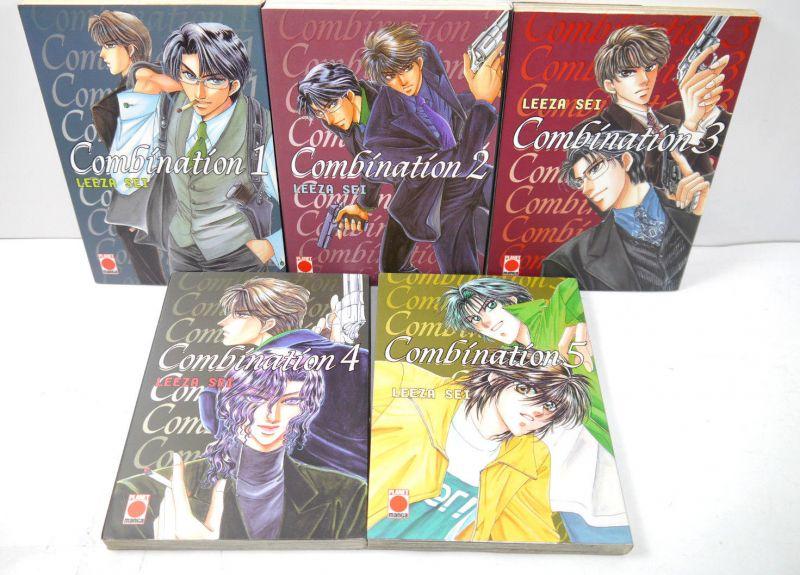 COMBINATION Band 1 2 3 4 5 Manga KOMPLETT Leeza Sei PLANET MANGA (MF16)
