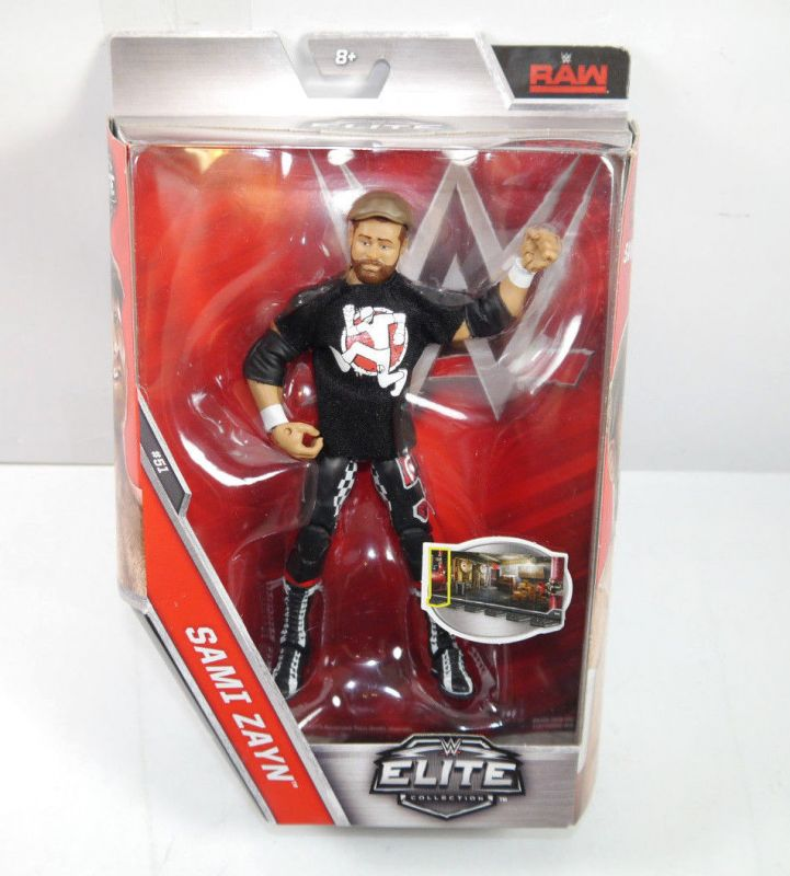 WWE ELITE COLLECTION Sami Zayn Actionfigur MATTEL ca.17cm Neu (L)
