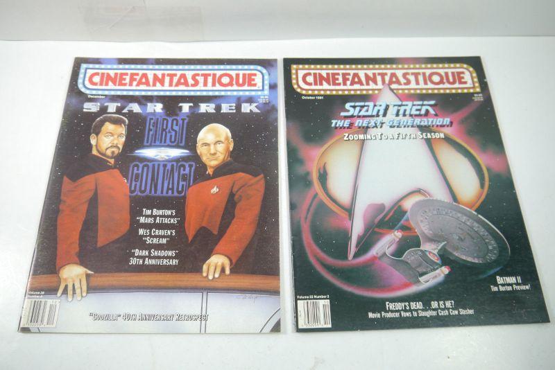 Cinefantastique  10 Film Magazine  Star Trek  1990-1996 Z : sehr  gut (WR6) 2