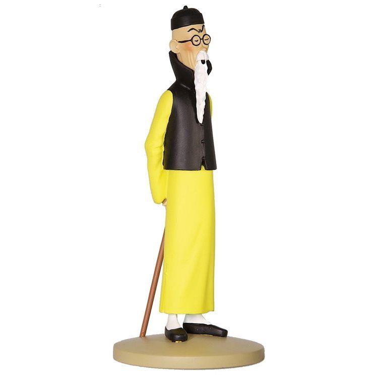 TIM & STRUPPI Tintin  Mr Wang Jen-Ghié Figur MOULINSART ca.12cm NEU (L)*