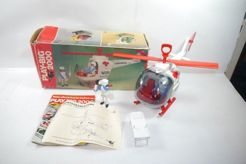 PLAY BIG 2000 Nr. 2500 Hubschrauber Luftrettung mit OVP  (KA1)