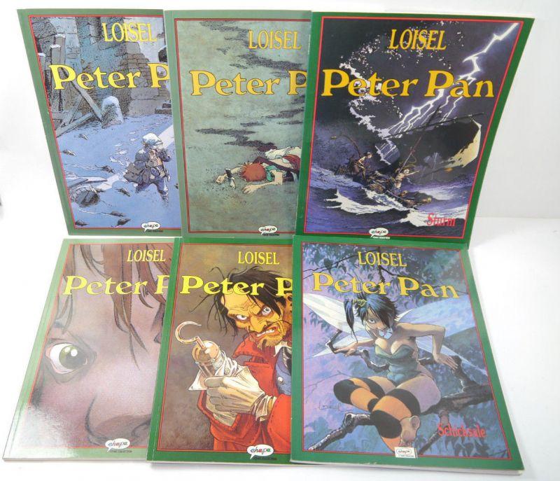PETER PAN Band 1 2 3 4 5 6 Comic komplett SC Loisel EHAPA COLLECTION (WR2)