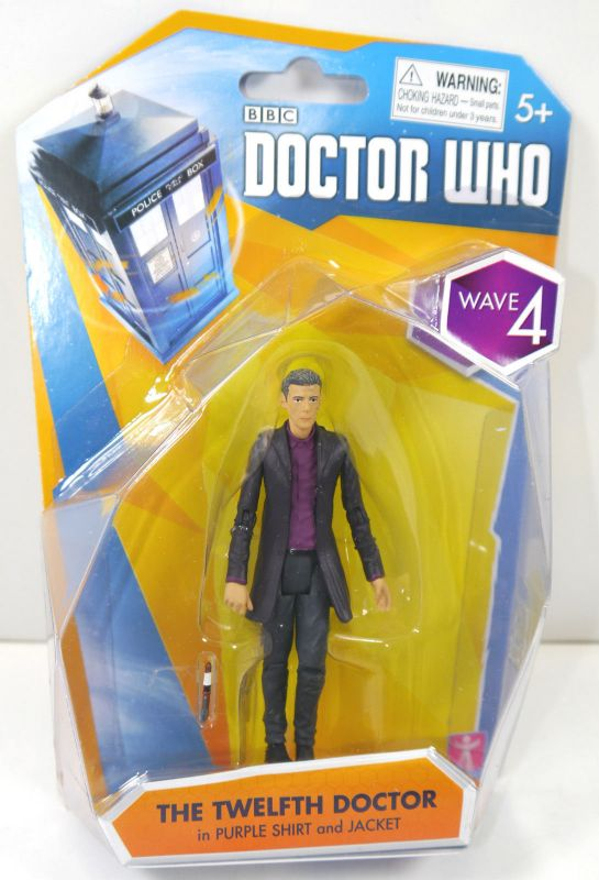 DOCTOR WHO Wave 4 - 12th Twelfth Doctor purple Shirt Actionfigur CHARACTER (L)