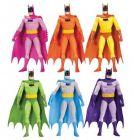 BATMAN Rainbow Arc-En-Ciel 6er Actionfigur Set DC COLLECTIBLES ca.17cm NEU (L)