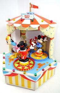 DISNEY CHARACTERS Music Box Mickey's Circus Zirkus Spieluhr Figur SCHMID KB/F30