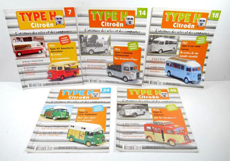 HACHETTE Type H Citroen Heft 7   14  18  24   46 Auto Zeitschrift (WR3)