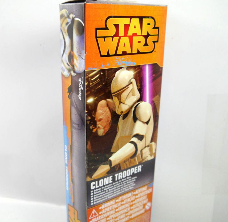 Star Wars Episode Ii Clone Trooper Actionfigur Titan Hero Ca28cm Hasbro Kb