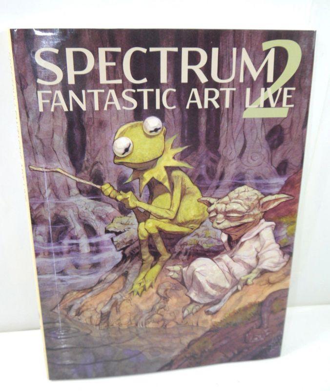 SPECTRUM Fantastic Art Live Band 2   Artbook versch. Künstler Foster Vess (WRX)