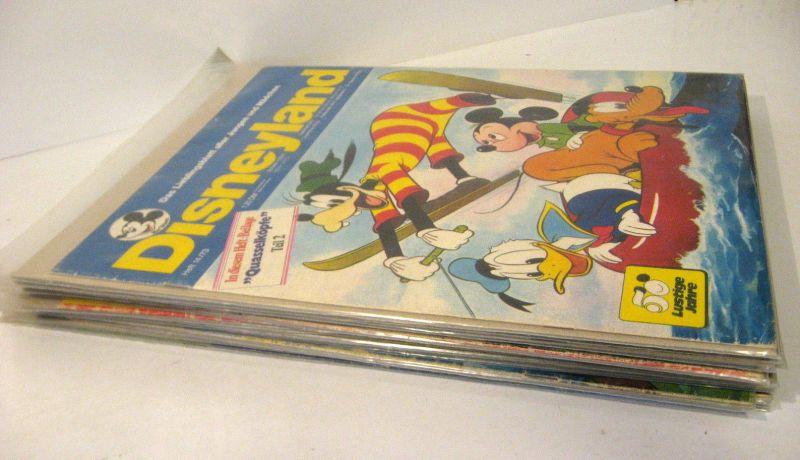 DISNEYLAND 13 Hefte / 1973 : 14 - 26 Comic - Peter Pan , Bambi , Alice (WR3)