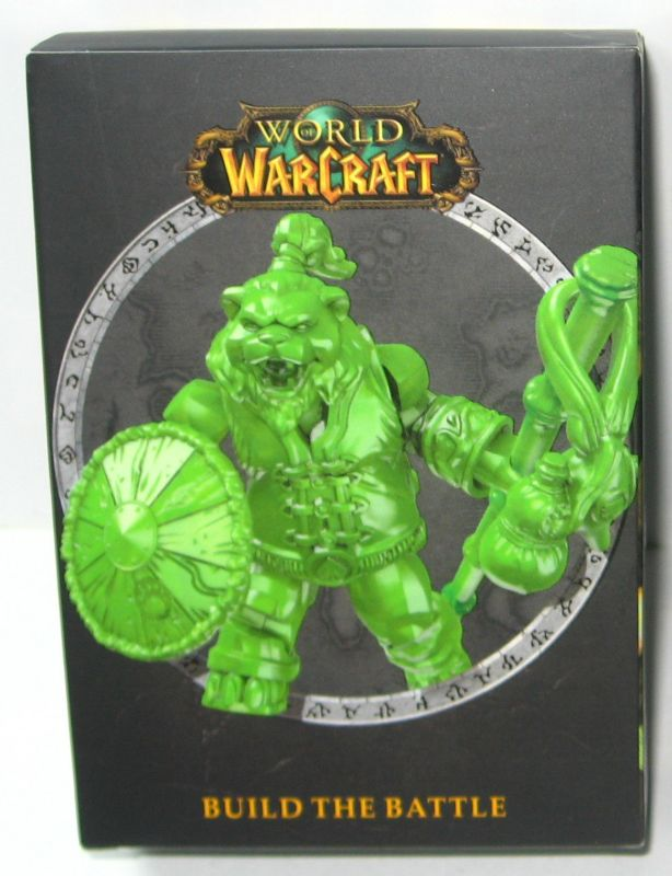 WORLD OF WARCRAFT WOW Exclusive Jade Chen / Stormstout Figur MEGA BLOKS (L)
